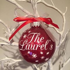 Surname Bauble