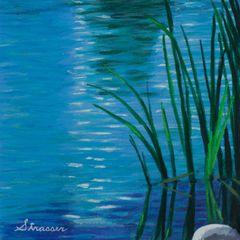 Zen Blue Stream