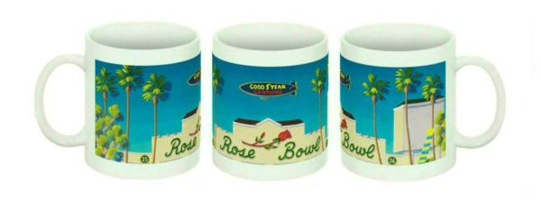 """Rose Bowl"" Ceramic Mug"