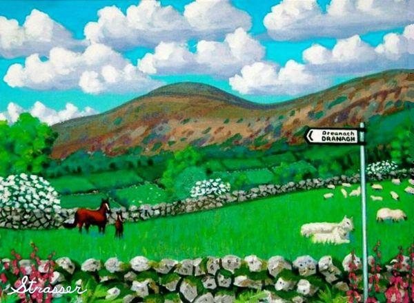 Dranagh Lane | 24 x 32 | Canvas Print