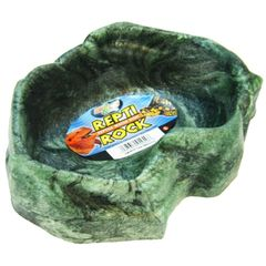ZOO MED REPTI ROCK FEED/ WATER BOWL