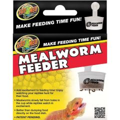 ZOO MED MEALWORM AND SMALL SUPER WORM FEEDER