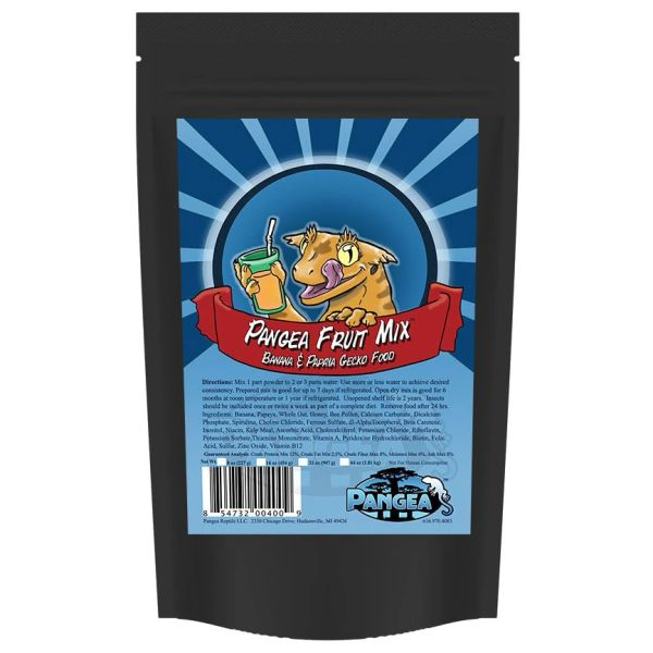 2 oz PFM Gecko Treat Banana Papaya Fruit Mix