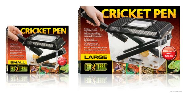 PERFECT DUBIA / CRICKET PEN FOR HOUSING AND FEEDING / NO TOUCH.