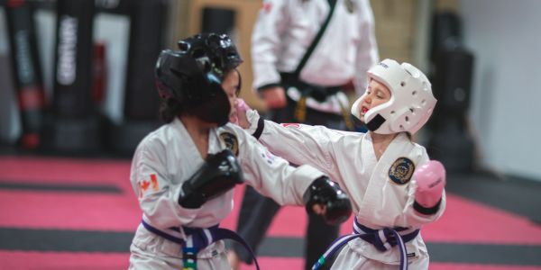 sparring for youth at summit martial arts