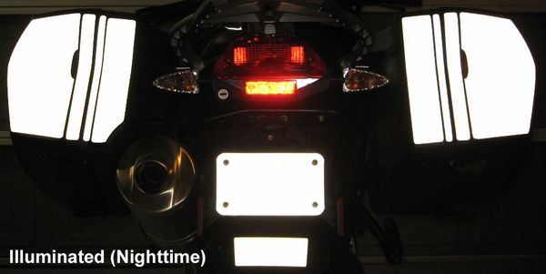 RK-30 BMW Motorcycle Reflective Kit -- -- Fits the saddlebags on the BMW F800GT