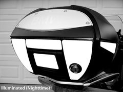 RK-16 BMW Motorcycle Reflective Kit: -- -- Fits the rear and sides of the BMW 28-Liter topcase/trunk
