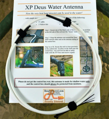XP DEUS Metal Detector Water Antenna