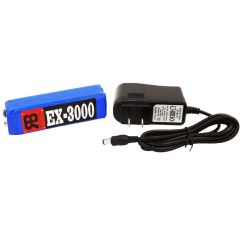 RnB EX-3000 Lithium-Polymer Battery for Minelab Excalibur II w/ 3.5 Hour Charger