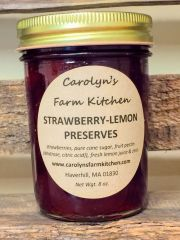Strawberry-Lemon Preserves