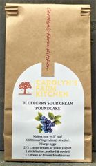 Blueberry Sour Cream PoundCake Mix