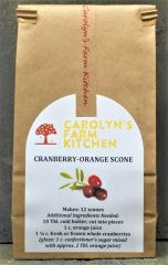 Cranberry-Orange Scone Mix