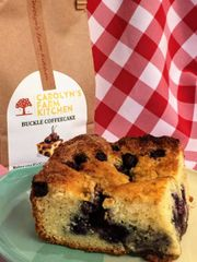 Fruit Buckle Coffeecake