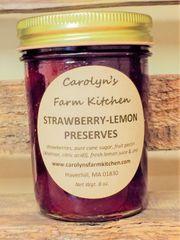 Strawberry-Lemon Preserves
