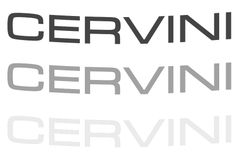 Cervini Windshield Decal, Part # 7065