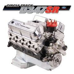 347 CUBIC INCHES 415 HP SEALED RACING ENGINE 7MM VALVES/ M-6007-D347SR7*