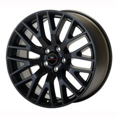"2015-2017 MUSTANG GT PERFORMANCE PACK FRONT WHEEL 19"" X 9"" - MATTE BLACK/ M-1007-M199B"
