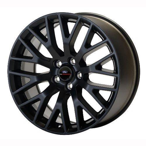 "2015-2017 MUSTANG GT PERFORMANCE PACK FRONT WHEEL 19"" X 9"" - MATTE BLACK/ M-1007-M199B"