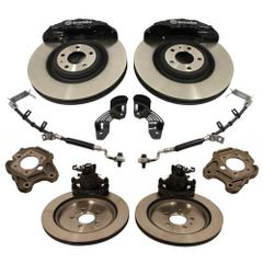 2005-2014 MUSTANG SIX PISTON 15-INCH BRAKE UPGRADE KIT/ M-2300-T