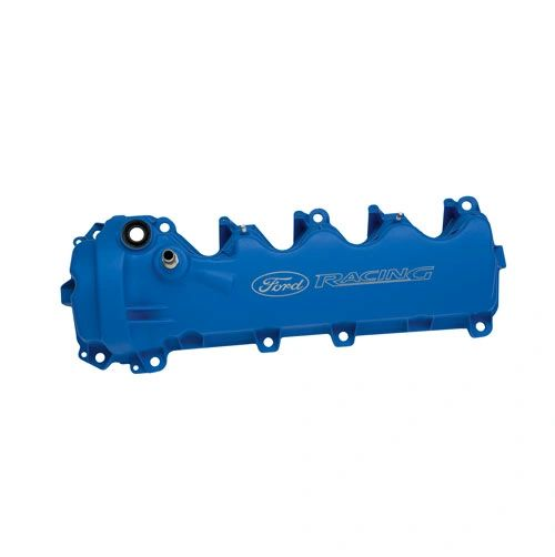 BLUE FORD RACING COATED 3-VALVE CAM COVERS/ M-6582-FR3VBL
