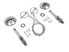 15+ Modern Billet Hood Pin Kit/ FR3Z-6316892-LM