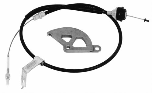 1982-1995 V8 MUSTANG ADJUSTABLE CLUTCH SERVICE CABLE, M-7553-C302