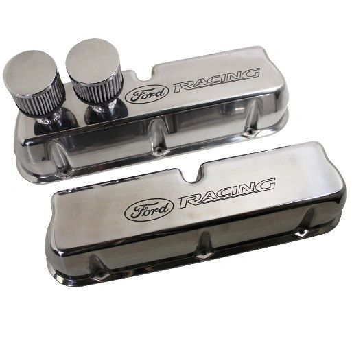 289/302/351W CIRCLE TRACK VALVE COVERS, M-6582-CT2