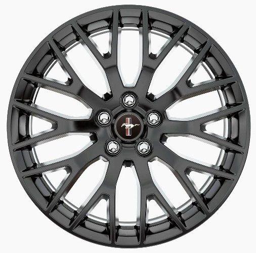 "2015 MUSTANG GT PERFORMANCE PACK REAR WHEEL 19"" X 9.5"" - MATTE BLACK/ M-1007-M1995B"