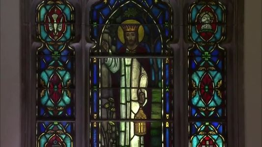 church, stained glass