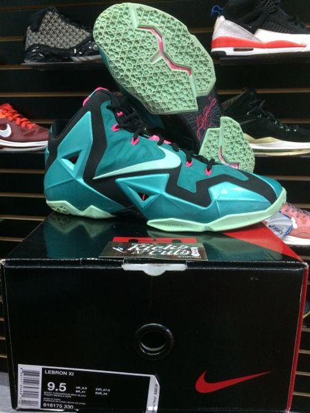super popular 9df5d 1fd89 Nike Lebron 11 south beach sz 9.5   Toptier Sneakers