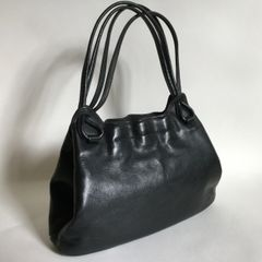 Freedex 1960s Vintage Handbag Fabulous 1960s Black Leather Vintage Handbag