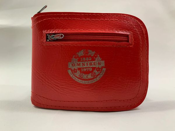London Omnibus Red Commemorative 1829 - 1979 Combined Purse And Shopping Bag.