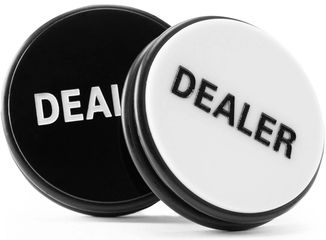 3 Inch Dealer Button