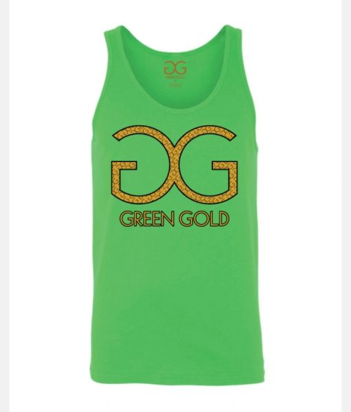 GG Green Gold Tank Top