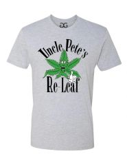 Uncle Pete's Re-Leaf T-shirt *Light Gray