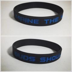 Maine The Way Buds Should Be Wrist Band