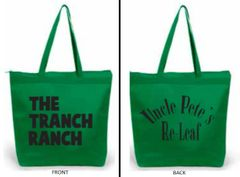 Green Double-sided Canvas Bag