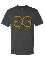 GG Green Gold T-shirt *Dark Gray