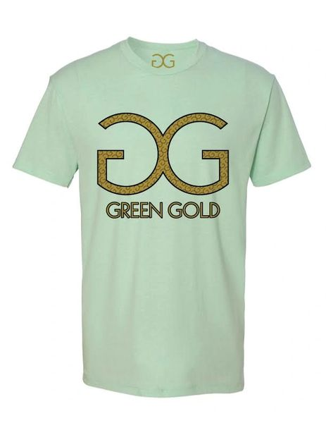 GG Green Gold T-shirt *Mint Green
