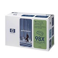 HP 92298X 98X OEM Laser Toner Cartridge
