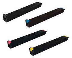 Sharp MX-31NTBA MX-50NTBA Black MX-31NTCA Cyan MX-31NTMA Magenta MX-31NTYA Yellow Compatible Toner Cartridge. Sharp MX-310HB Compatible Waste Container