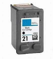 HP 21 C9351AN Black 22 C9352AN Tri-Color Compatible Inkjet Cartridge