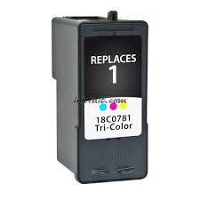 Lexmark 1 18C0781 Tri-Color Compatible Inkjet Cartridge