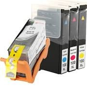 Lexmark 100XL 100 14N1068 14N1011 Black 14N1069 14N1013 Cyan 14N1070 14N0901 Magenta 14N1071 14N1017 Yellow Compatible Inkjet Cartridge