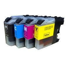 Brother LC107BK LC105BK Black LC107C LC105C Cyan LC107M LC105M Magenta LC107Y LC105Y Yellow Compatible Inkjet Cartridge