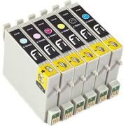 Epson T048120 Black T048220 Cyan T048320 Magenta T048420 Yellow T048520 Photo Cyan T048620 Photo Magenta Compatible Inkjet Cartridge