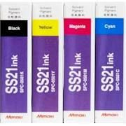 Mimaki SS21 SS21BK Black SS21C Cyan SS21M Magenta SS21Y Yellow SS21LC Light Cyan SS21LM Light Magenta Compatible Eco Solvent Inkjet Cartridge