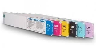 Roland ESL3-4 ESL3-4BK Black ESL3-4C Cyan ESL3-4M Magenta ESL3-4Y Yellow ESL3-4LC Light Cyan ESL3-4LM Light Magenta Compatible Eco Solvent Inkjet Cartridge