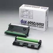 Fujitsu Dex 6950 6951 Genuine Toner Developer Drum Cartridge.