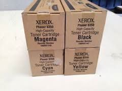 Xerox 106R01147 Black 106R01144 Cyan 106R01145 Magenta 106R01146 Yellow Genuine Toner Cartridge. Xerox 108R645 108R00645 Genuine Imaging Unit.